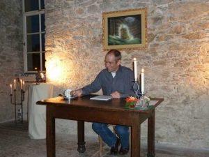 Martin Menner: Tschechow-Lesung