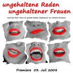 Ungehaltenen Reden ungehaltener Frauen, Student*innen-Bühne KHG-Würzburg
